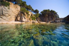 The beaches of Lloret de Mar